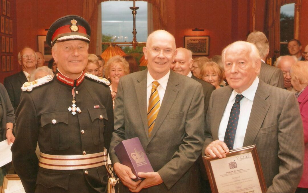 Physionet Receives Queens Award for Voluntary Service